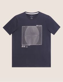 ARMANI EXCHANGE SLIM-FIT CIRCLE GRAF CREW Graphic T-shirt [*** pickupInStoreShippingNotGuaranteed_info ***] r