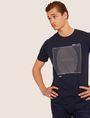 ARMANI EXCHANGE SLIM-FIT CIRCLE GRAF CREW Graphic T-shirt [*** pickupInStoreShippingNotGuaranteed_info ***] a