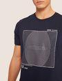 ARMANI EXCHANGE SLIM-FIT CIRCLE GRAF CREW Graphic T-shirt [*** pickupInStoreShippingNotGuaranteed_info ***] b