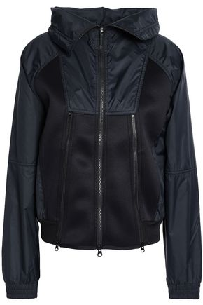 ADIDAS by STELLA McCARTNEY Mesh-paneled scuba jacket