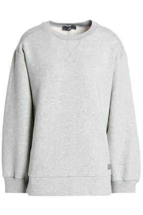 ADIDAS by STELLA McCARTNEY French cotton-blend terry sweatshirt