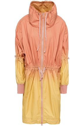 ADIDAS by STELLA McCARTNEY Gathered dégradé shell jacket