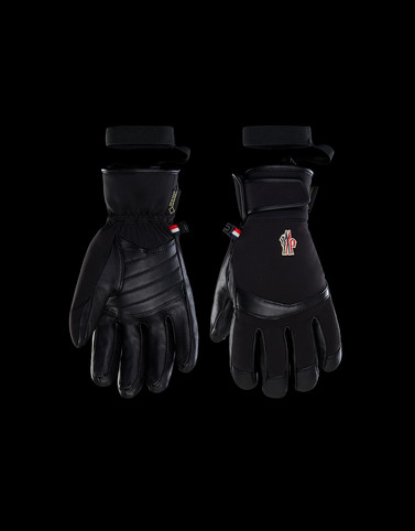 Ski Gloves Black Scarves & Gloves Man