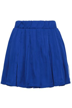 ADIDAS ORIGINALS Pleated woven mini skirt