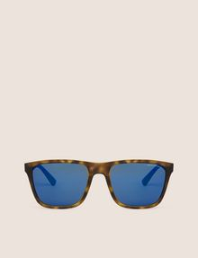 ARMANI EXCHANGE BLUE MIRRORED TORTOISE CLASSIC SUNGLASSES Sunglass [*** pickupInStoreShippingNotGuaranteed_info ***] r