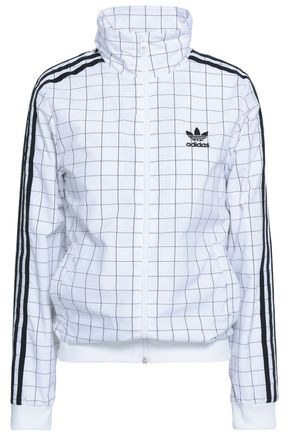 ADIDAS ORIGINALS Checked shell jacket