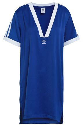 ADIDAS ORIGINALS Satin-crepe T-shirt