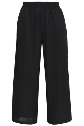 ADIDAS ORIGINALS Cropped stretch-jersey track pants