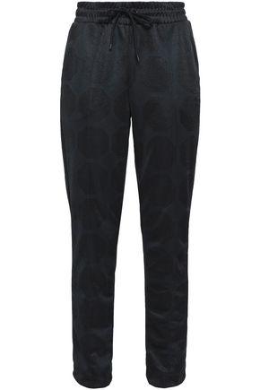 ADIDAS ORIGINALS Jersey-jacquard track pants
