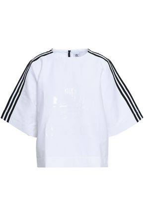 ADIDAS ORIGINALS Oversized cotton-blend T-shirt
