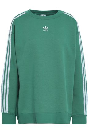 ADIDAS ORIGINALS French cotton-blend terry sweatshirt