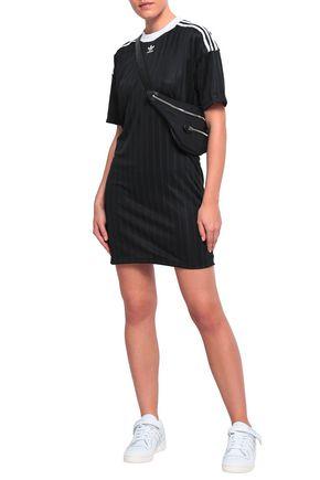 ADIDAS ORIGINALS Tech-jersey mini dress