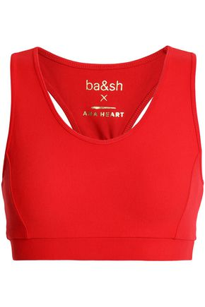 BA&SH x ANA HEART Katy stretch-jersey sports bra
