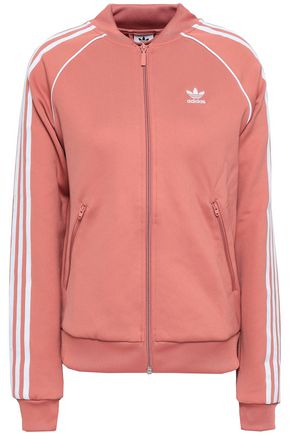 ADIDAS ORIGINALS Striped jersey jacket
