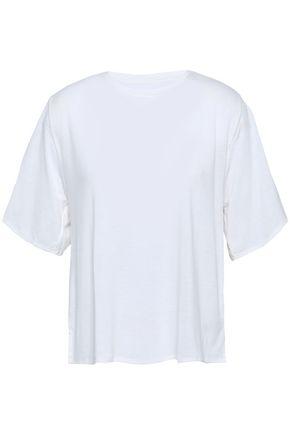 ADIDAS Devoré jersey T-shirt
