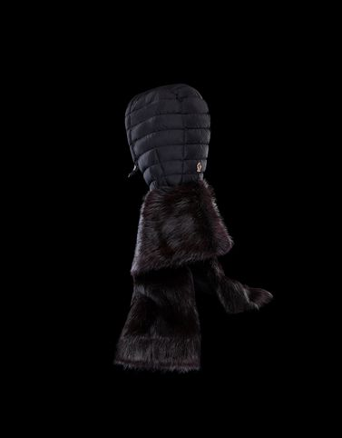 Moncler Grenoble Hats Woman: FUR-TRIMMED HOOD