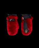MONCLER FUR-TRIMMED GLOVES - Gloves - women