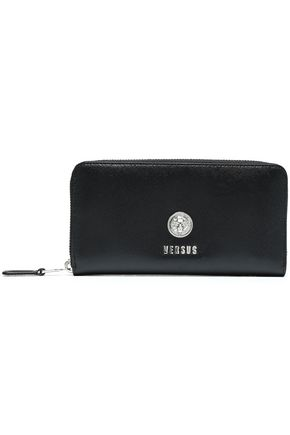 VERSUS VERSACE Textured-leather continental wallet