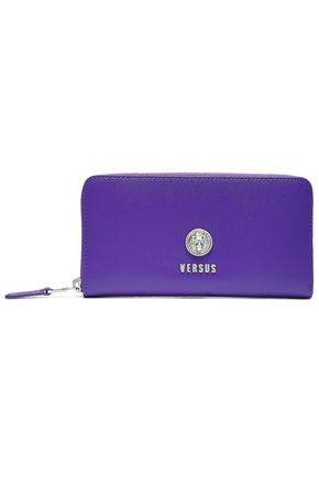 VERSUS VERSACE Textured-leather wallet