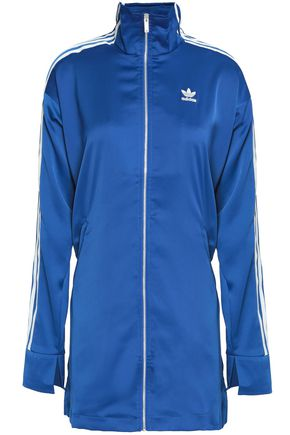 ADIDAS ORIGINALS Satin-crepe jacket