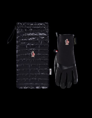 Ski Gloves Black Grenoble Scarves & Gloves