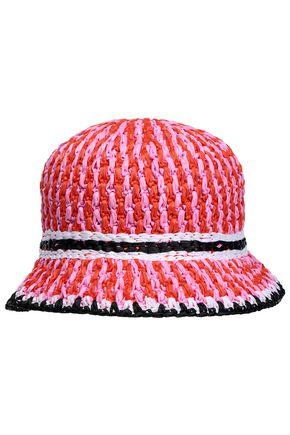 MISSONI MARE Raffia sun hat