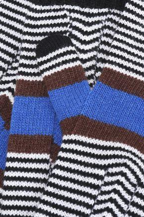 MISSONI Striped wool gloves