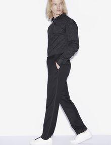 ARMANI EXCHANGE CREASE-FRONT DRESS PANT Chino [*** pickupInStoreShippingNotGuaranteed_info ***] a