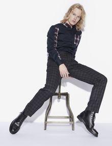 ARMANI EXCHANGE PLAID DRESS PANT Chino [*** pickupInStoreShippingNotGuaranteed_info ***] a