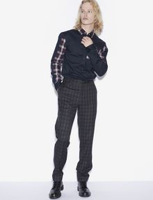 ARMANI EXCHANGE PLAID DRESS PANT Chino [*** pickupInStoreShippingNotGuaranteed_info ***] d
