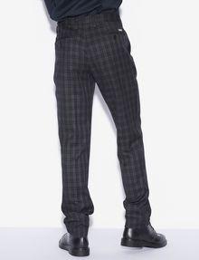 ARMANI EXCHANGE PLAID DRESS PANT Chino [*** pickupInStoreShippingNotGuaranteed_info ***] e