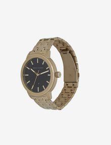 ARMANI EXCHANGE GOLD-TONED BRACELET WATCH WITH COORDINATING BRACELET SET Fashion Watch [*** pickupInStoreShippingNotGuaranteed_info ***] r