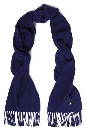 McQ Alexander McQueen Appliquéd wool scarf
