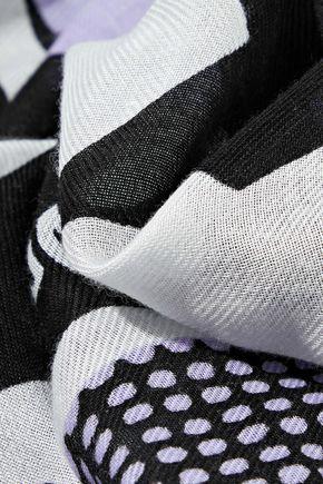 マックキュー プリント モダール スカーフ