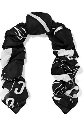 McQ Alexander McQueen Printed modal-twill scarf