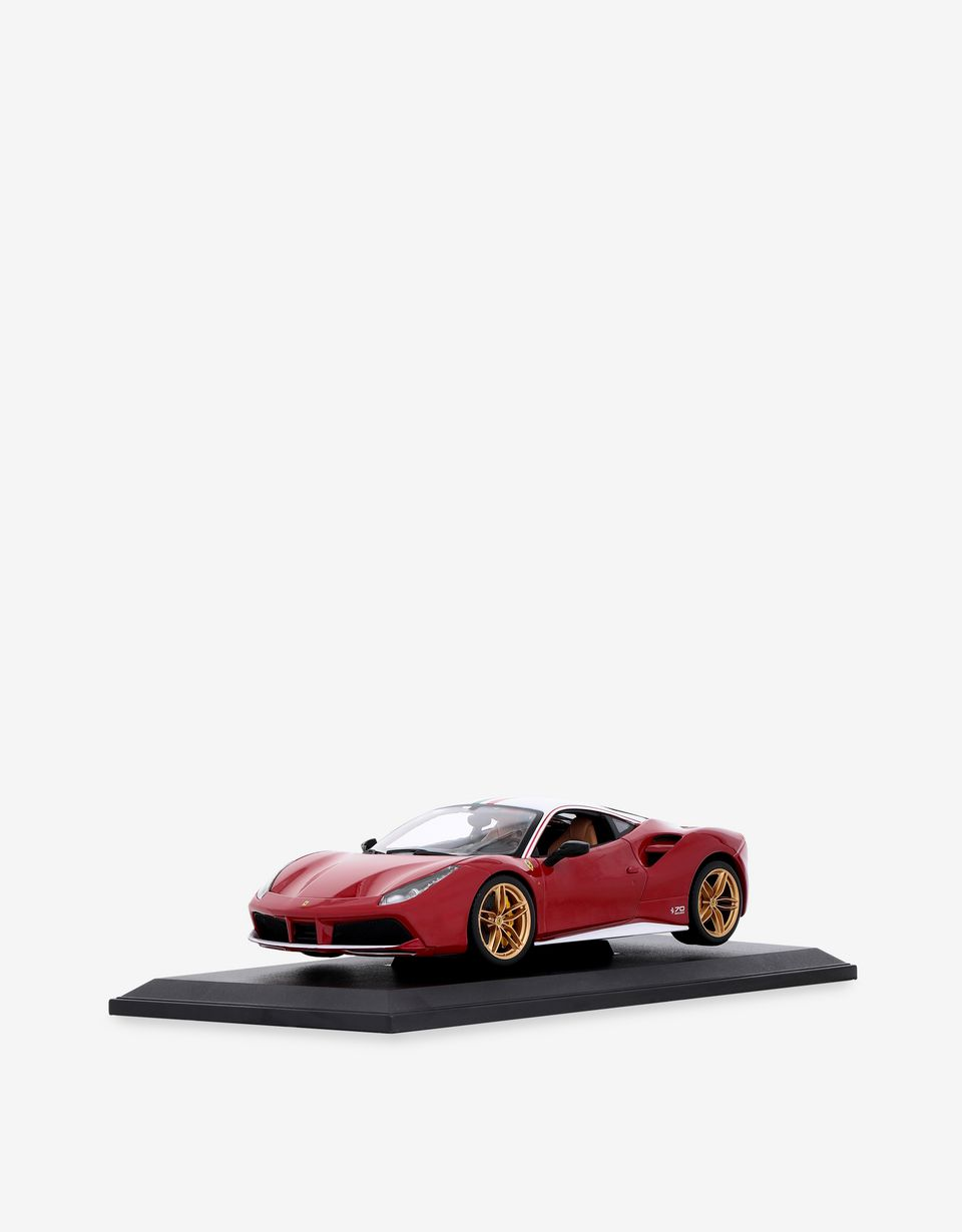 Scuderia Ferrari Online Store - Modellino Ferrari 488 GTB Lauda in scala 1:18 - Modellini Auto 1:18
