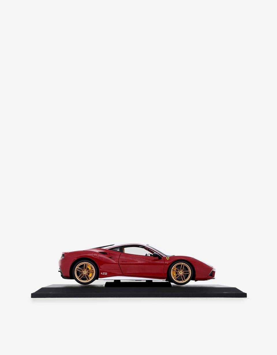 Scuderia Ferrari Online Store - Ferrari 488 GTB Lauda model in 1:18 scale - Car Models 01:18