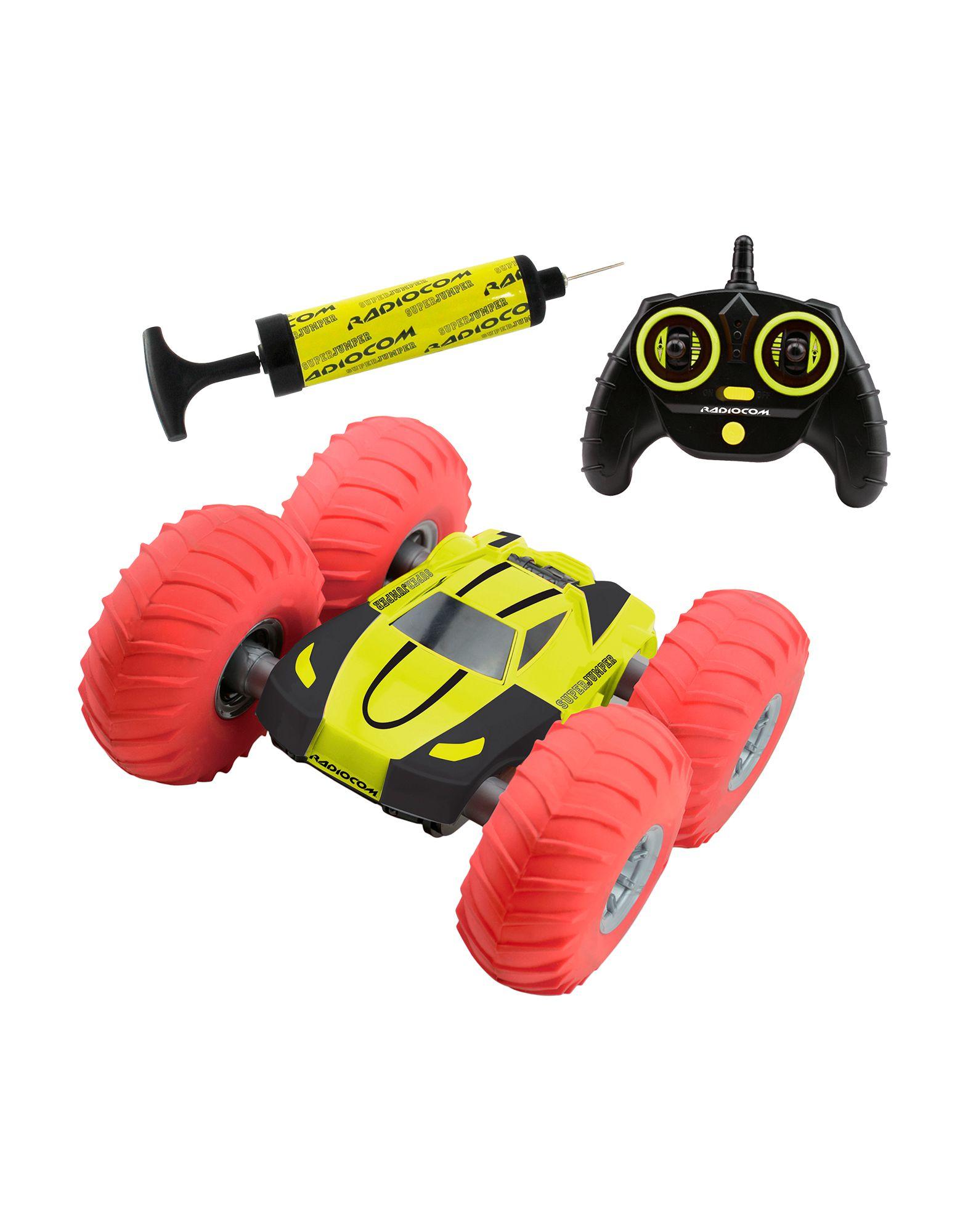 YOOX.COM(ユークス)《セール開催中》RADIOCOM ボーイズ 3-8 歳 ミニカー/電車/飛行機ほか イエロー プラスティック