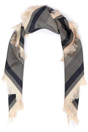 TORY BURCH プリント シルクツイル スカーフ
