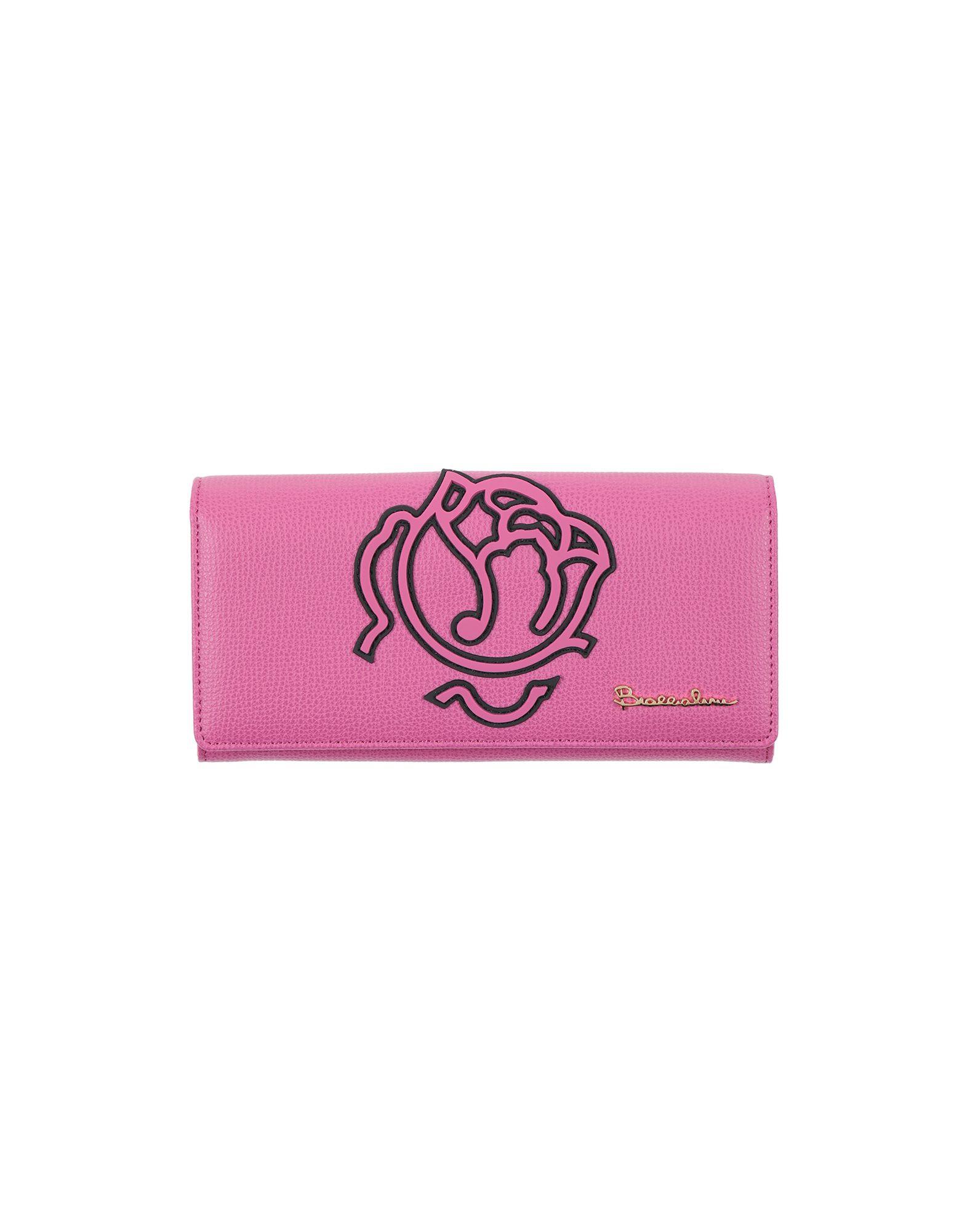 BRACCIALINI Бумажник marino кожа моды простой короткий бумажник сладкий дикий бумажник 3 раза черные женские модели