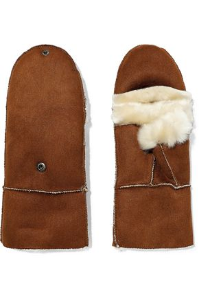 SURELL Faux shearling mittens