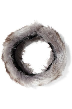 SURELL Faux fur headband