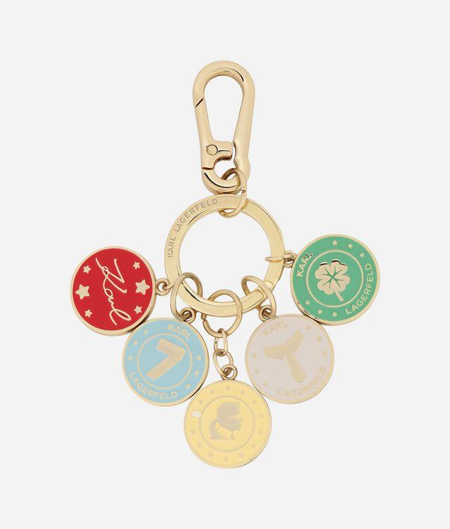 Karl Lagerfeld - Porte-clés pièces de métal - 1
