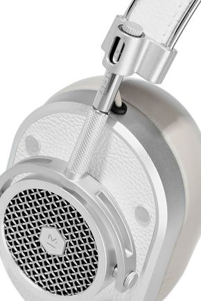 MASTER & DYNAMIC MH40 textured-leather headphones