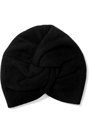 MADELEINE THOMPSON Janice twisted wool and cashmere-blend beanie