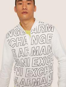 ARMANI EXCHANGE PATTERN-BLOCKED LOGO BOMBER Track top [*** pickupInStoreShippingNotGuaranteed_info ***] a