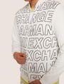 ARMANI EXCHANGE PATTERN-BLOCKED LOGO BOMBER Track top [*** pickupInStoreShippingNotGuaranteed_info ***] b
