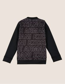 ARMANI EXCHANGE BOYS OVERSIZED LOGO BOMBER Track top [*** pickupInStoreShippingNotGuaranteed_info ***] r