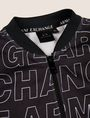 ARMANI EXCHANGE BOYS OVERSIZED LOGO BOMBER Track top [*** pickupInStoreShippingNotGuaranteed_info ***] d