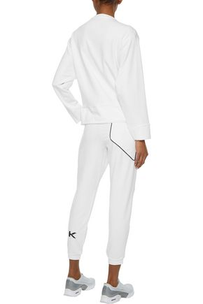 KORAL Pace cropped French terry track pants